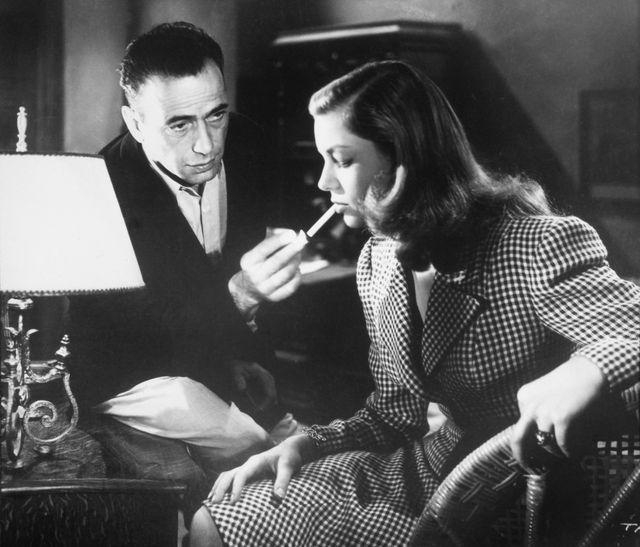 Lauren Bacall et son complice Humphrey Bogart