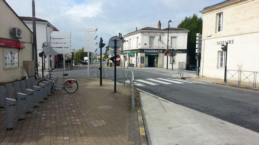 Centre-ville de Floirac, près de Bordeaux