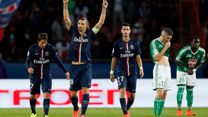 Le PSG de Zlatan Ibrahimovic a croqué les Verts