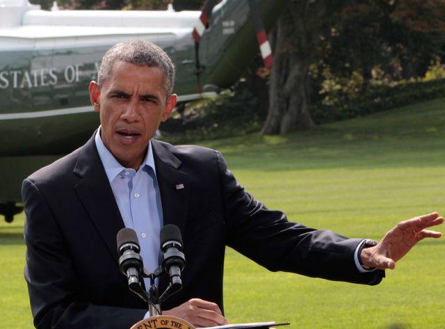 Barak Obama s'est exprimé juste avant de quitter la Maison Blanche pour partir en vacances.