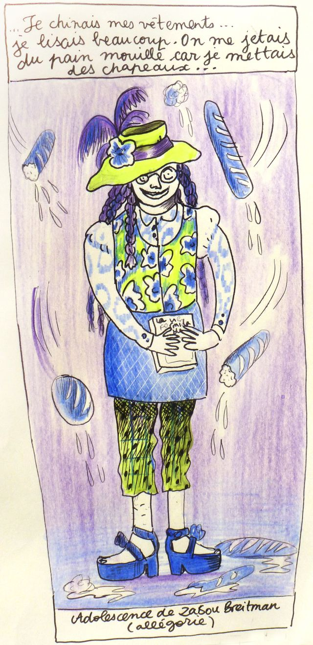 S'habiller pour se construire - Allégorie de Zabou Breitman