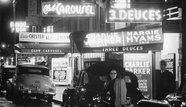 La 52e rue, la « rue du jazz » à New York en 1948