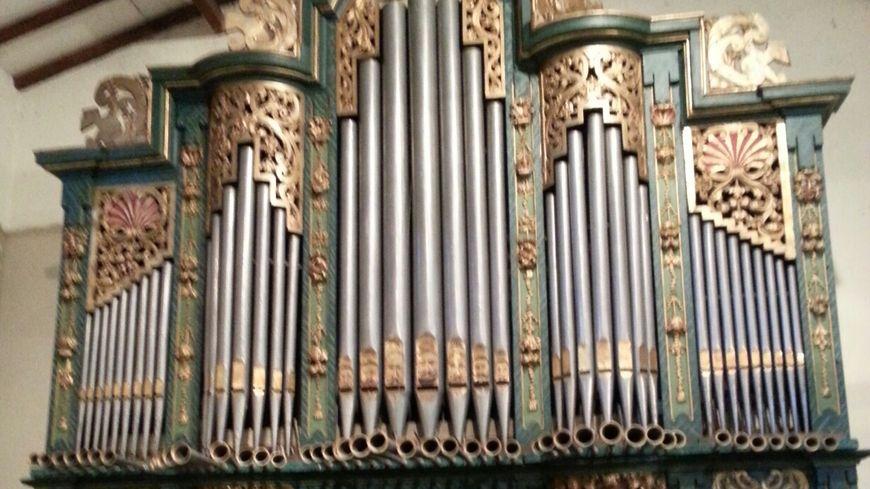 L'un des orgues de François Chapelet à Montpon