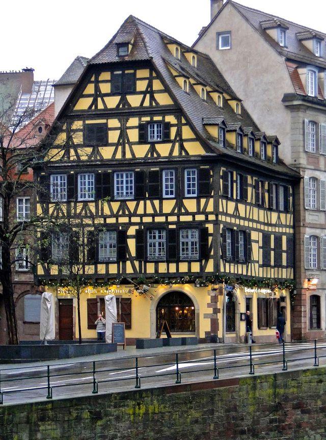 L U0026 39 Alsace Perd Plus D U0026 39 Une Maison  U00e0 Colombages Par Jour