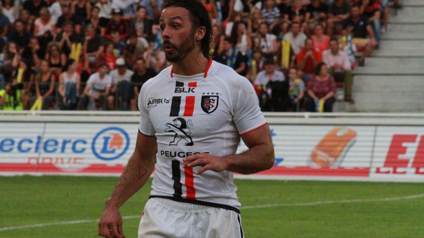 Clément Poitrenaud, arrière ou centre du Stade Toulousain.