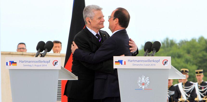 HWK François Hollande et Joachim Gauck
