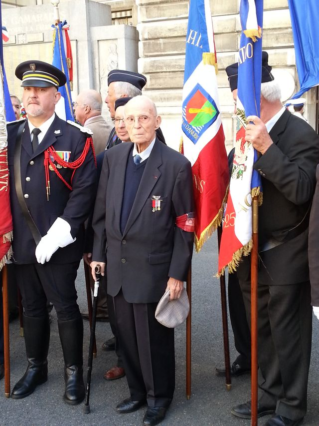 Jacques Vallet, 94 ans, résistant à la libération de Paris