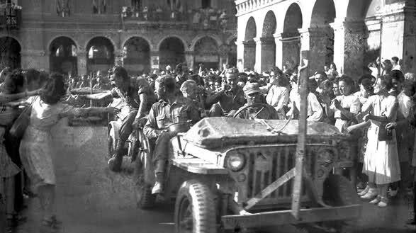 Entrée des troupes américaines à Nice, le 30 août 1944