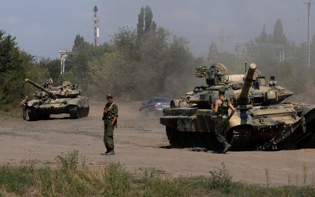 Des combats à la frontière russo-ukrainienne
