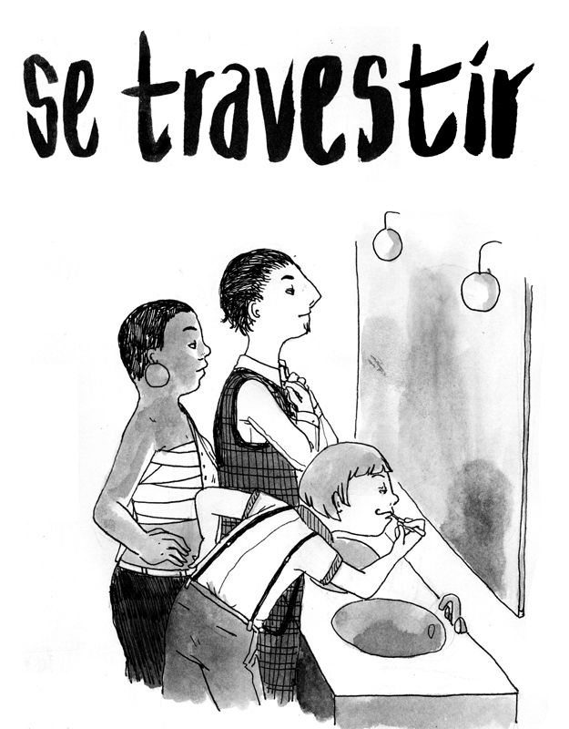 Lucie Bryon - Se travestir #1