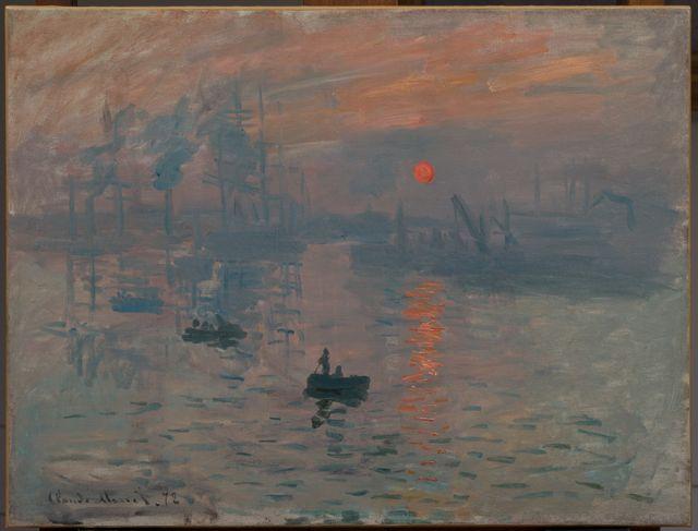 Impression, Soleil Levant - Claude Monet - 1872