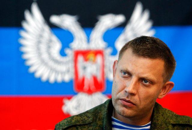 """Alexander Zakharchenko, premier ministre autoproclamé de la """"République populaire de Donetsk"""""""