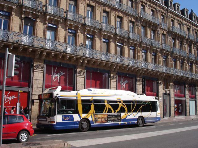Bus Tisséo à Toulouse