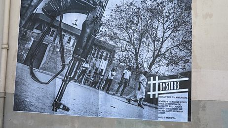 Le projet #Dysturb s'affiche sur les murs de Perpignan