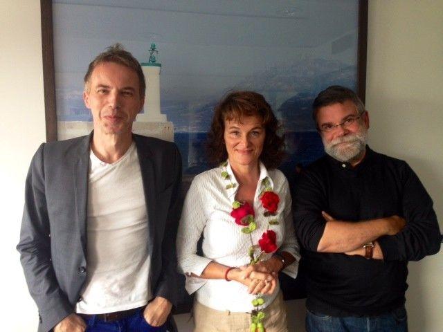 Christian Berst, Lucienne Peiry et Xavier Mauméjean