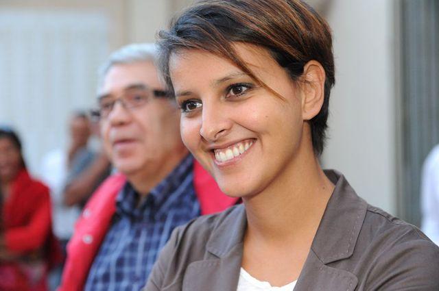 Najat Vallaud-Belkacem, nouvelle ministre de l'Education nationale, de l'Enseignement supérieur et de la Recherche