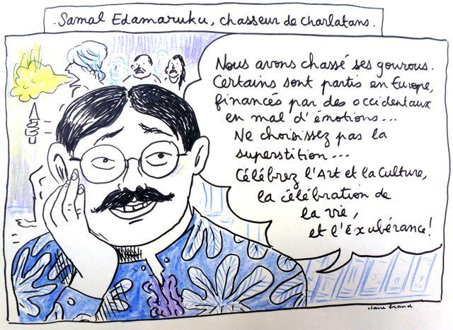 Entrer en religion - Samal Edamaruku, chasseur de charlatans