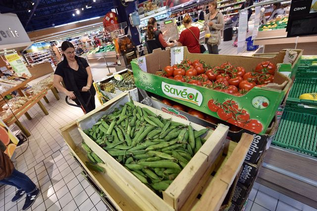 supermarché à Wattrelos dans le Nord
