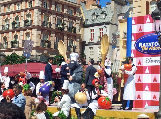 "Inauguration de ""Ratatouille"" à Disneyland Paris"
