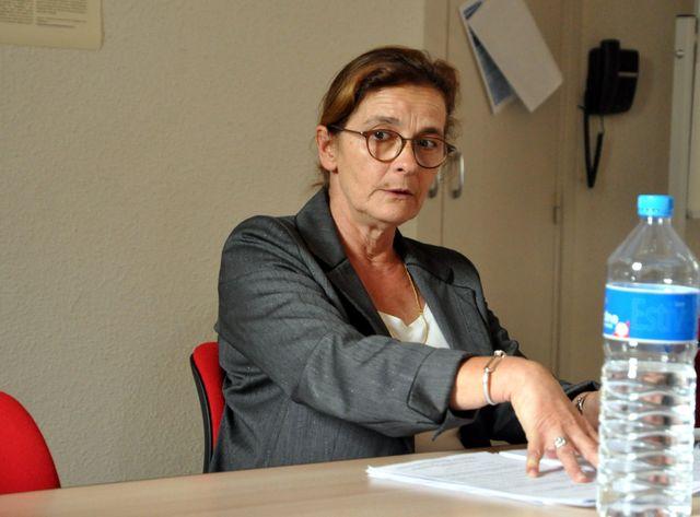 La préfète de l'Ariège, Nathalie Marthien, au lendemain du drame.