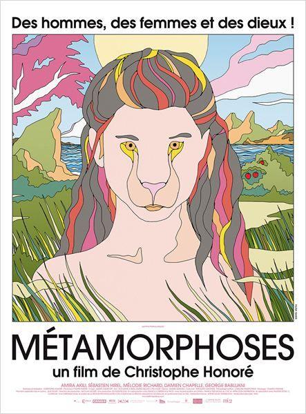 Affiche du film Métamorphoses de Christophe Honoré
