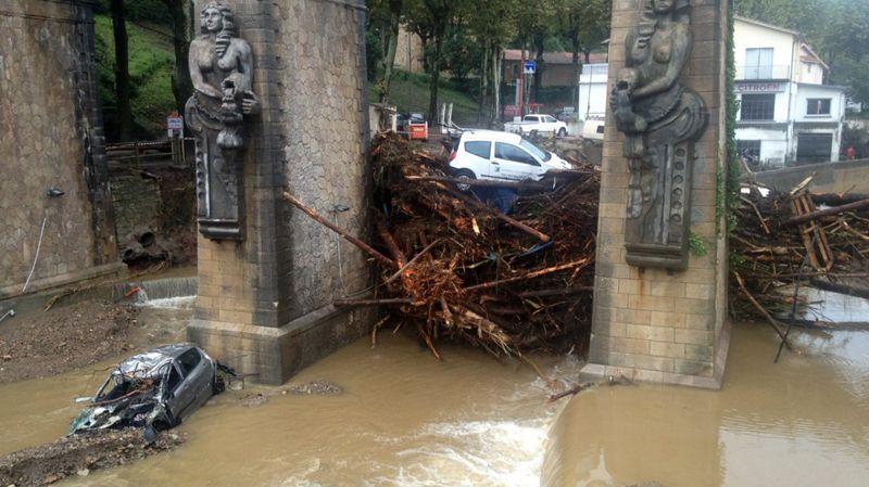 L'entrée de Lamalou-les-Bains