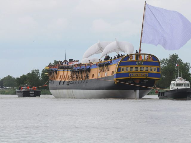 Le bateau de Lafayette reprend la mer
