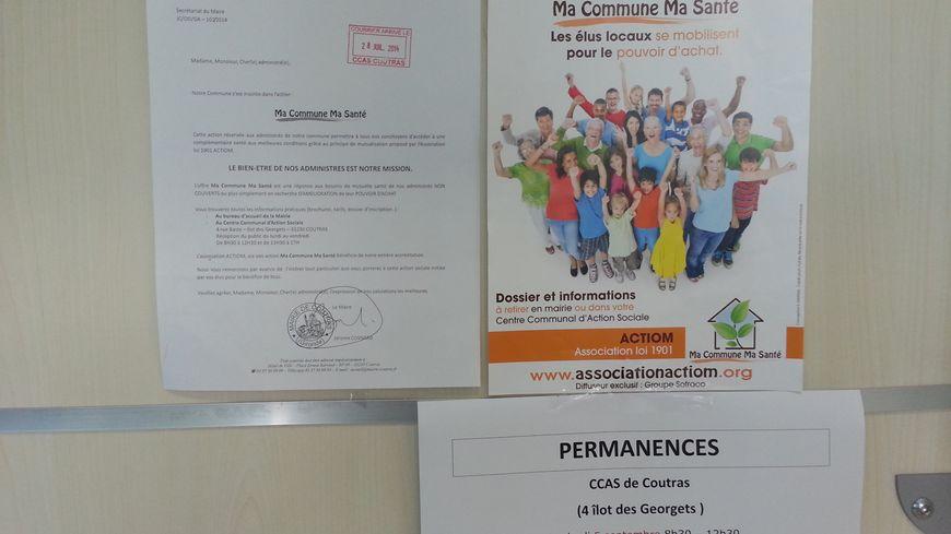 Depuis début août, Coutras a lancé la première mutuelle municipale de Gironde.