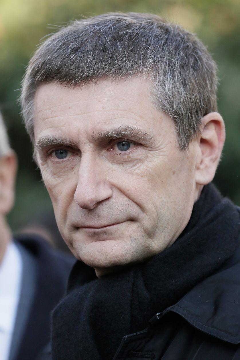 Frédéric Péchenard, en campagne pour les élections municipales à Paris et l'UMP, le 10 décembre 2013