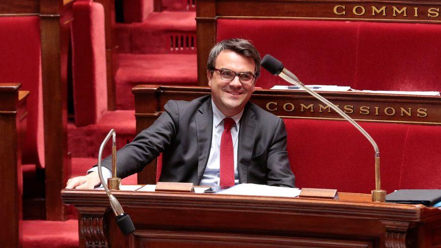 Thomas Thévenoud dans les rangs de l'Assemblée nationale