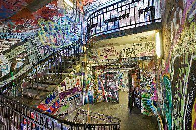 Tacheles Berlin intérieur
