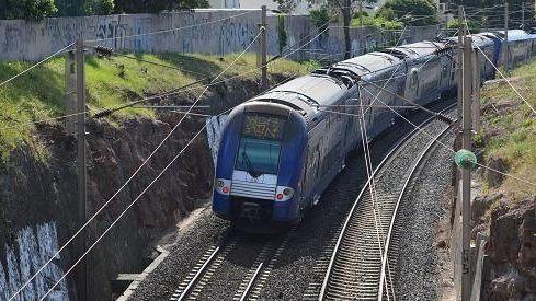 Circulation d'un train