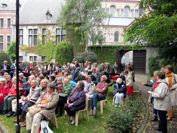 Le public de Tournai