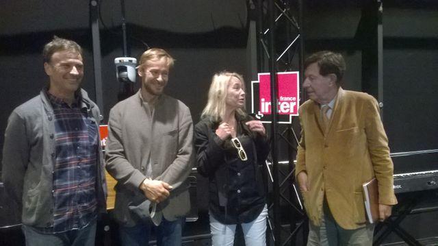 Robert Cantarella, Eric Ruf, Laure Adler et Richard Peduzzi