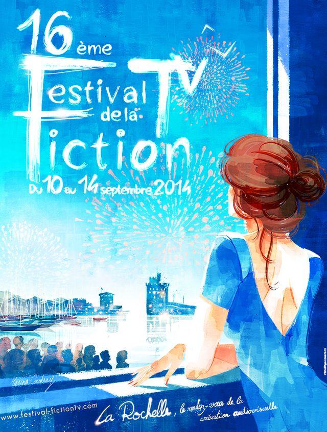 Affiche du Festival de la Fiction TV