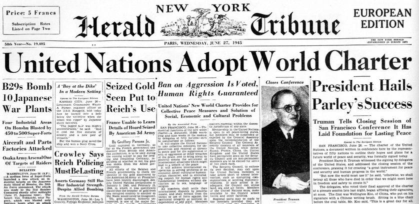 UN charter 1945
