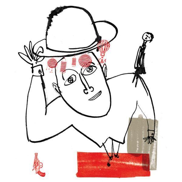 "Jean Bellorini - affiche pièce ""Liliom"" au TGP"