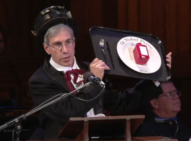 Les Ig Nobel Awards 2014 ont été remis vendredi