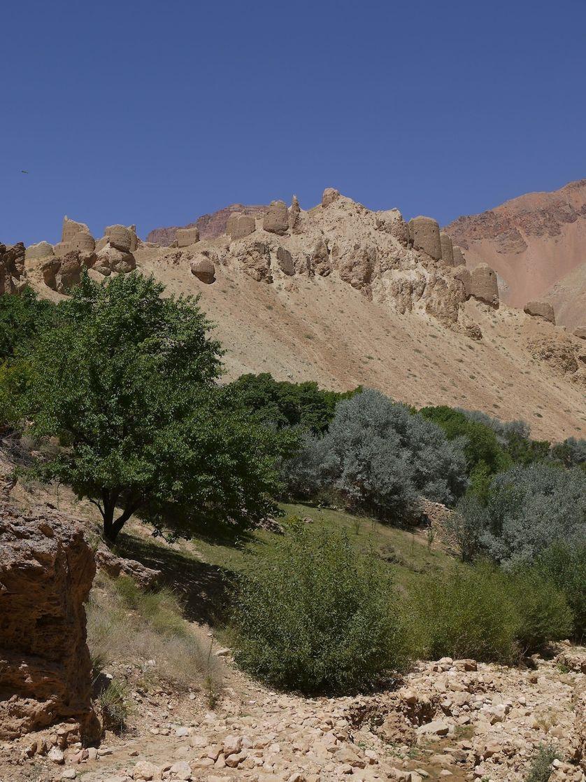 Site archéologique en Afghanistan