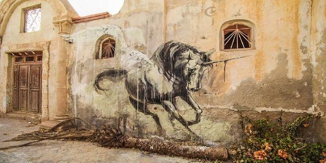 Cheval à Djerbahood