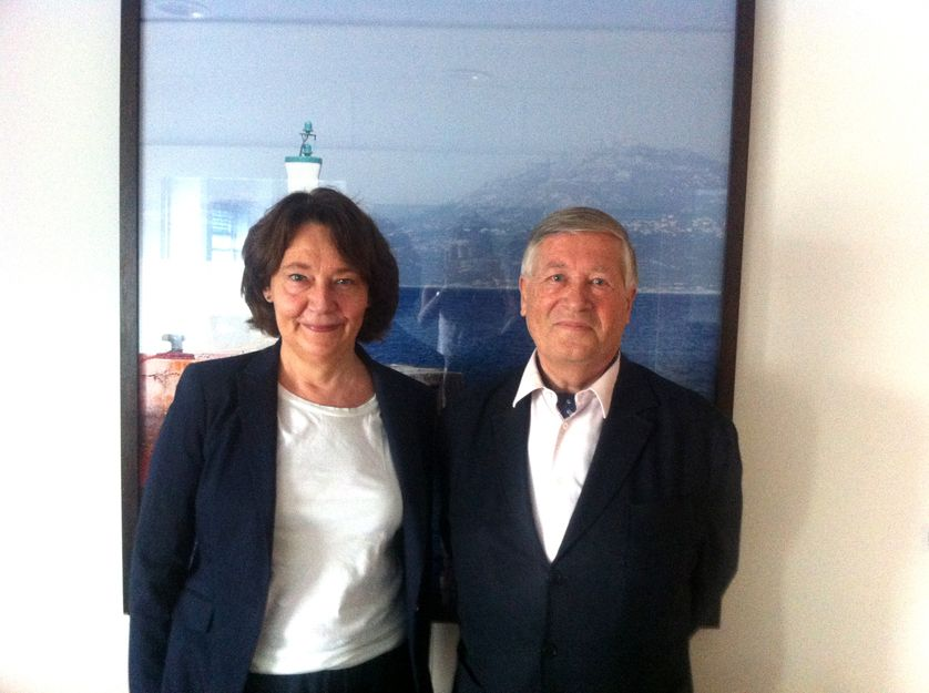 Françoise Fressoz et Alain Duhamel