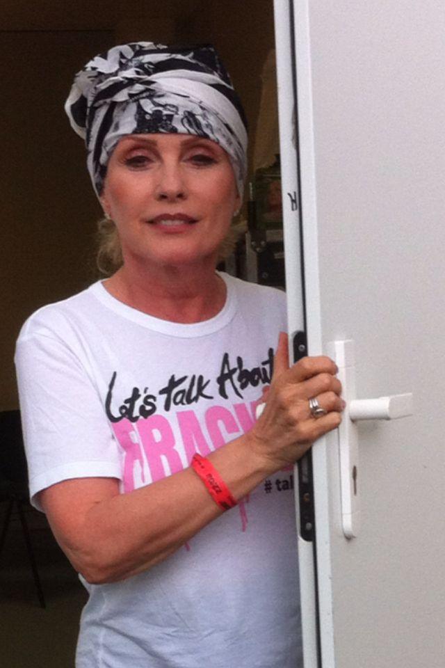 Debbie Harry au Festival Rock en Seine 2014