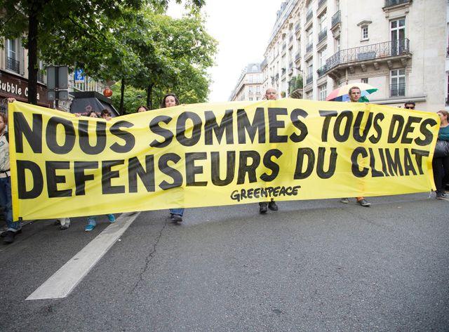 Des manifestation se déroulent un peu partout dans le monde pour alerter l'opinion sur le dérèglement climatique