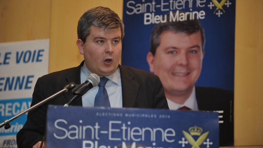 Gabriel de Peyrecave, élu Front National FN, Saint-Étienne, Loire
