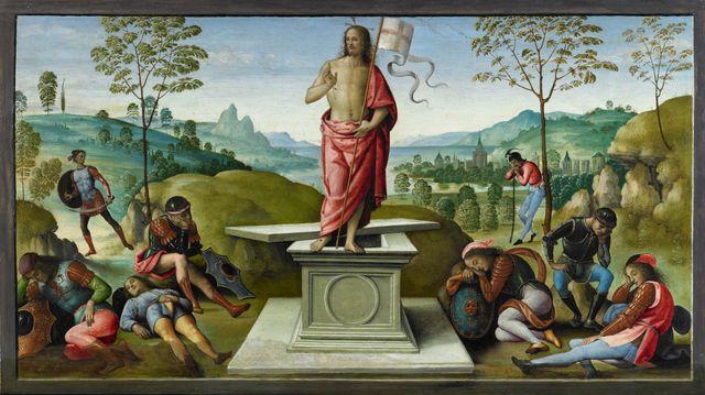 La Résurrection, Rouen, musée des Beaux-Arts (c) C. Lancien, C. Loisel, Musées de la ville de Rouen