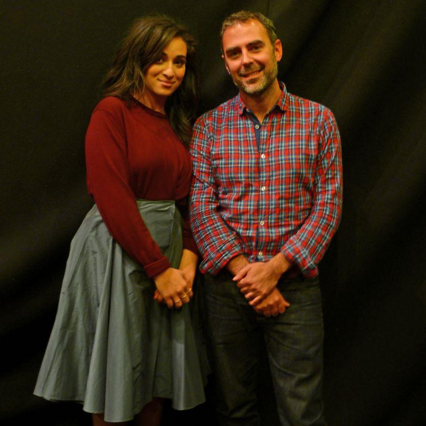 Camélia Jordana et Marc Lainé