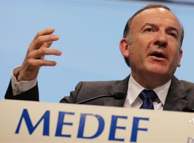 Pierre Gattaz présente le projet du Medef pour créer un million d'emplois d'ici 2020.