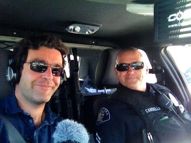 Giv Anquteil et le Capitaine Cardella, police d'Alembra