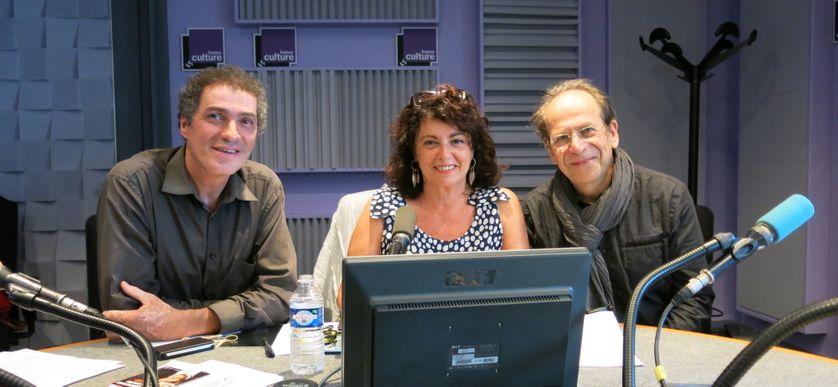 Vincent Safrat, Aline Pailler & François David ( de gauche à droite )