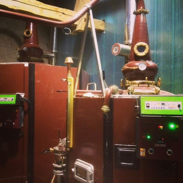La Jules-Vernesque salle de distillation